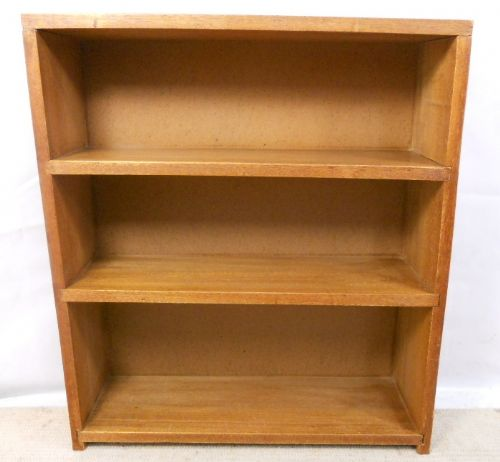 Teak Wood, Standing Open Bookcase Cabinet